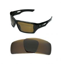 NEW POLARIZED CUSTOM BRONZE LENS FOR OAKLEY EYE PATCH 2 SUNGLASSES
